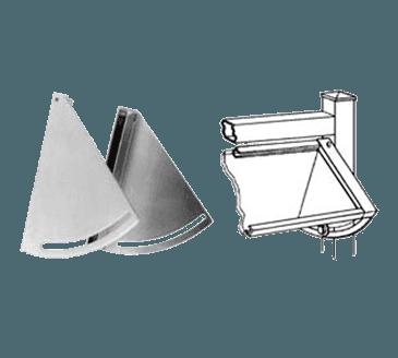 FMP 135-1191 Adjustable Sneeze Guard Bracket Set