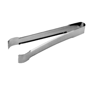"""FMP 137-1010 Tomato Tongs 9"""" long  stainless steel"""