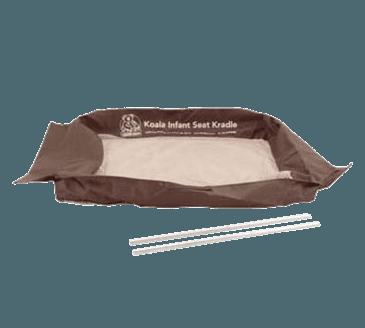 FMP 141-2137 Infant Seat Kradle Mesh Sling Kit by Koala Kare Tan and brown