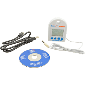 FMP 142-1698 Temperature Data Logger by Supco 1-second to 18-hour sample rate