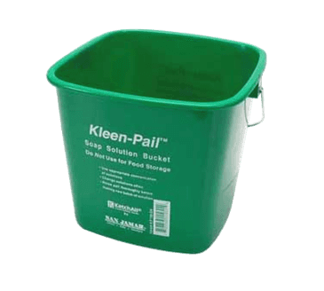 FMP 150-6000 Kleen-Pail Soap Solution Bucket by San Jamar 6 qt