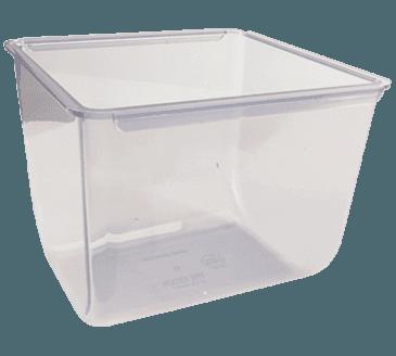 FMP 150-6022 Mini Dome Condiment Dispenser Insert by San Jamar 2 qt