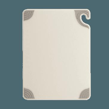 """FMP 150-6043 Saf-T-Grip Cutting Board by San Jamar 18"""" x 24"""" white"""