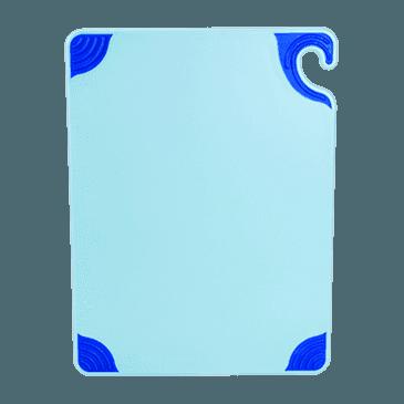 """FMP 150-6063 Saf-T-Grip Cutting Board by San Jamar 15"""" x 20"""" blue"""