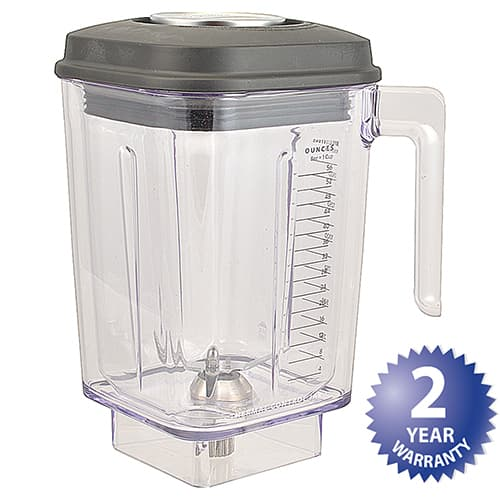 FMP 163-1062 Container by KitchenAid Double wall  56 oz capacity  vented lid with ingredient measuring cup plug
