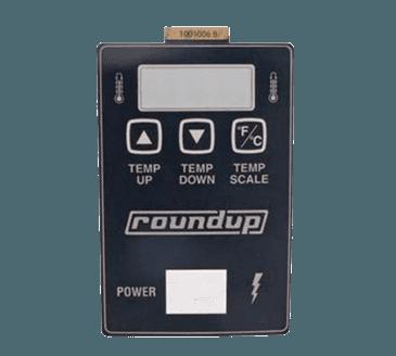 FMP 183-1195 Control Label Adhesive back