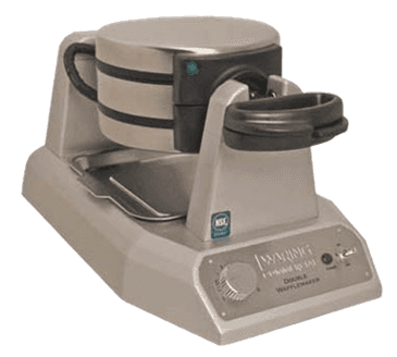 FMP 222-1383 Double Belgian Waffle Maker by Waring