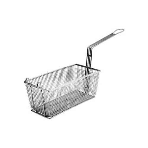"FMP 225-1041 Standard Fryer Basket 13-1/4"" H x 4-1/4"" W x 5-1/2"" HFront hook"