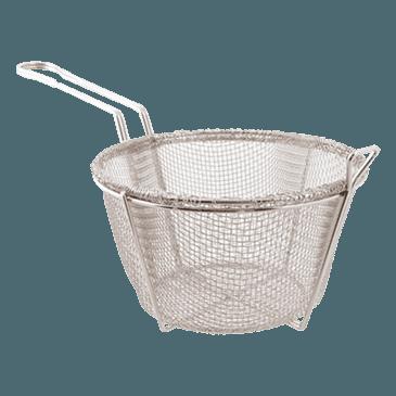 """FMP 226-1059 Round Mesh Basket 8-1/2"""" OD x 5"""" H"""