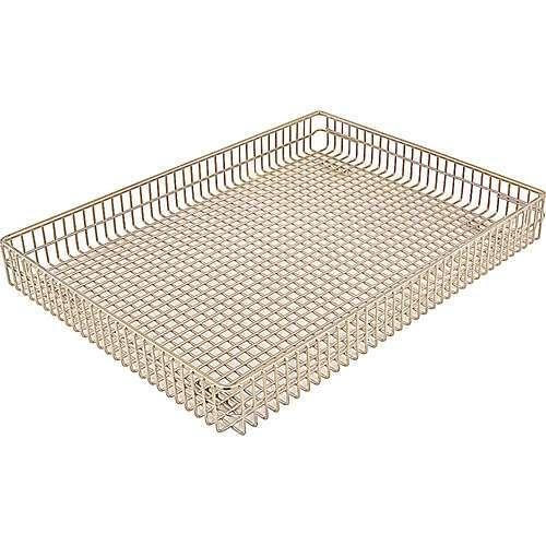 "FMP 227-1309 Wire Form Fryer Basket 16-1/8"" L x 12"" W x 1-7/8"" D"