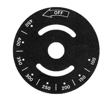 FMP 228-1199 Thermostat Dial Plate