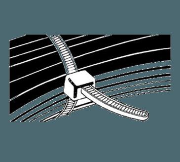 FMP 253-1112 Wire Ties Pack of 100