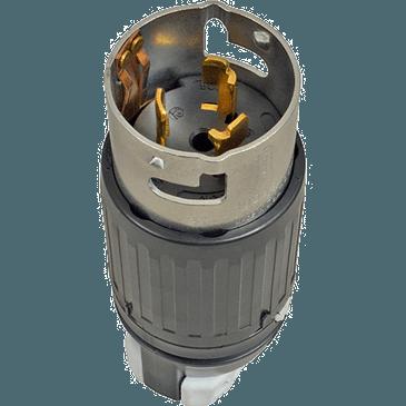 FMP 253-1485 3 Phase Twist Lock Plug 3-prong