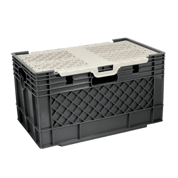 FMP 256-1270 Milk Crate with Lid