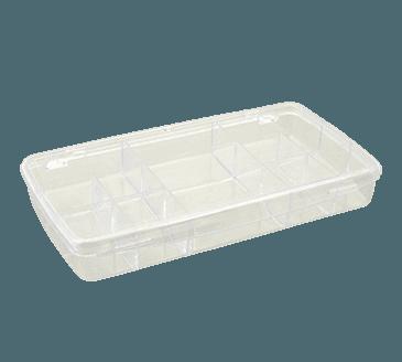 FMP 280-1054 Plastic Storage Box 12-compartment