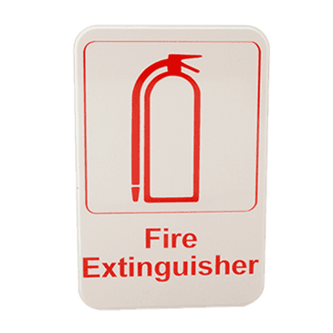 "FMP 280-1162 Fire Extinguisher Sign 6"" x 9"""