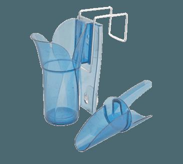 FMP 280-1415 Saf-T-Scoop Guardian System Ice Scoop and Holder by San Jamar