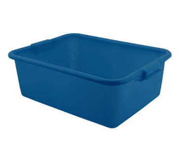 FMP 280-1435 Traex Color Mate Food Storage Box by Vollrath Blue