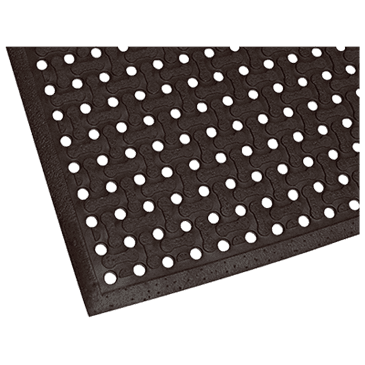 """FMP 280-1473 Superflow Safety Floor Mat by Teknor Apex Grease-resistant  3' x 5' x 5/8"""" thick"""