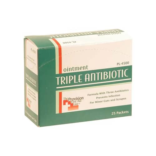 FMP 280-1541 Triple Antibiotic Ointment Box of 25