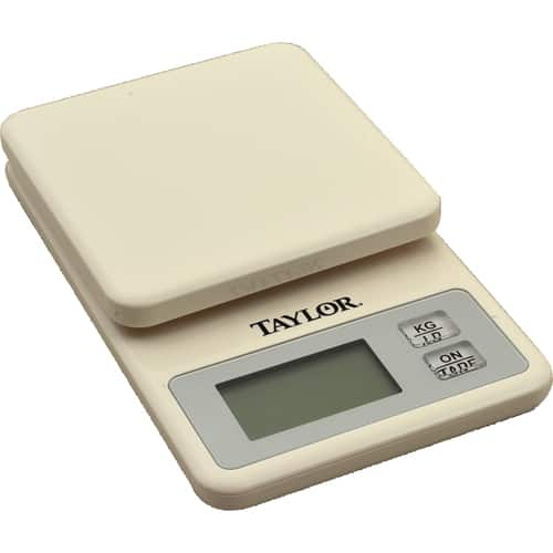 FMP FMP 280-2105 Mini Digital Kitchen Scale by Taylor White plastic