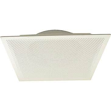 """FMP 556-1134 Perforated Hole Pattern Air Diffuser/Return/Exhaust by Eger 24"""" x 24""""  16"""" diameter neck  recessed body"""