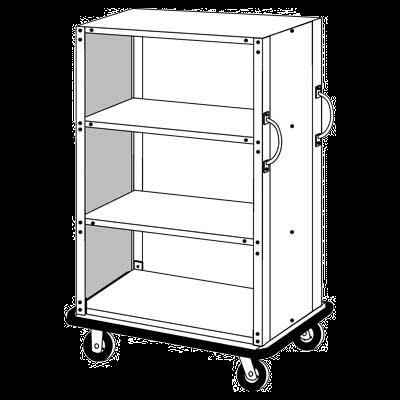 Forbes Industries 1228-SE Linen Cart
