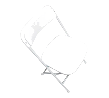 Forbes Industries C600WWH/WH EventXpress™ Folding Chair