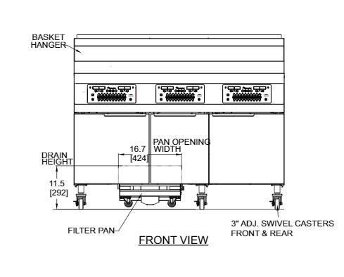 frymaster 11814gf fryer kitchen equipment ckitchen com frymaster 11814gf fryer