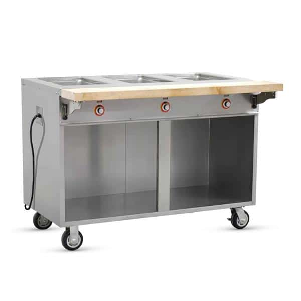 FWE / Food Warming Equipment Co., Inc. FWE / Food Warming Equipment Co., Inc. HLC-3W6-1-DRN Handy Line Serving Cabinet