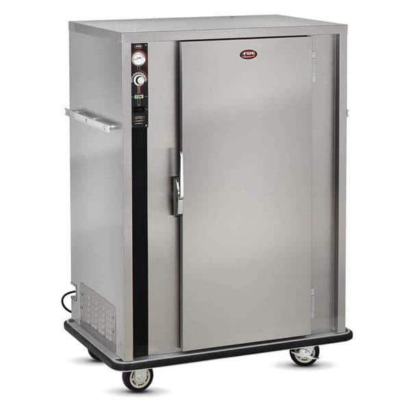 FWE / Food Warming Equipment Co., Inc. P-90 1 Door Heated Banquet Cabinet Holds up to 72-90 Plates, 120 Volts