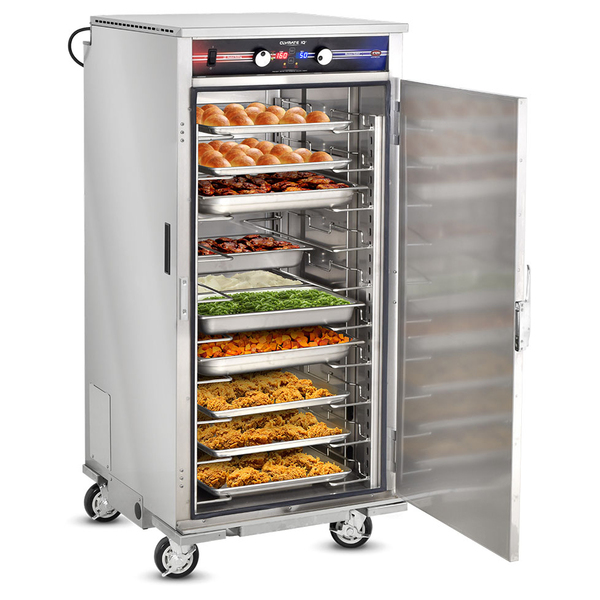 FWE / Food Warming Equipment Co., Inc. PHTT-10-CV Clymate IQ® Solid Door Mobile Heated Holding Cabinet, 120 Volts