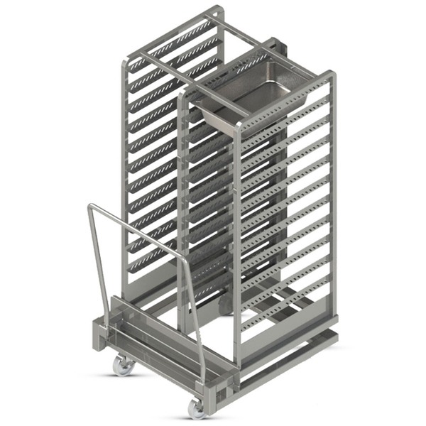 FWE / Food Warming Equipment Co., Inc. / Food Warming Equipment Co., Inc. RR-1220-22 Rethermalizer-Holding Roll-In Rack