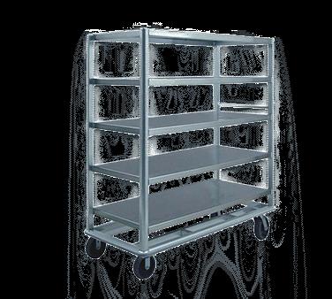 FWE / Food Warming Equipment Co., Inc. / Food Warming Equipment Co., Inc. UC-60-512AL Queen Mary Utility Cart