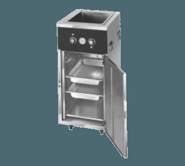 FWE / Food Warming Equipment Co., Inc. FWE / Food Warming Equipment Co., Inc. HLC-1W6-7H-7-DRN Handy Line Serving Cabinet