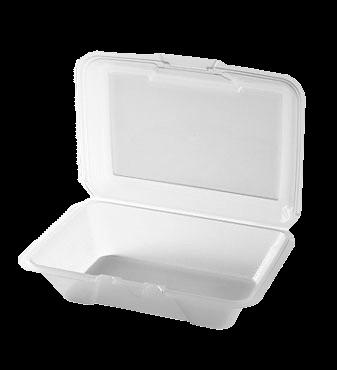 G.E.T. Enterprises EC-04-1-CL Eco-Takeout's® To Go Food Container