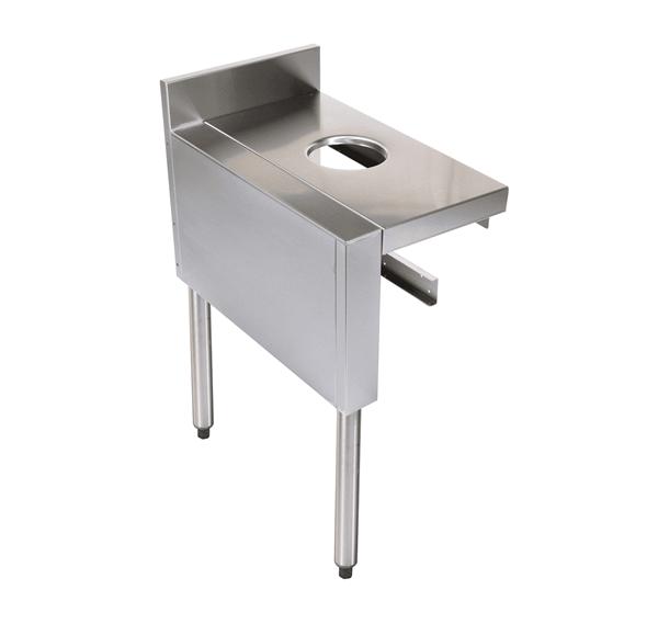 Glastender C-DW-15L CHOICE Underbar Dry Waste Chute