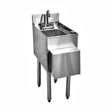 Glastender C-SWA-12 CHOICE Underbar Wet Waste Sink Unit