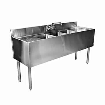 Glastender C-TSB-48L CHOICE Underbar Sink Unit