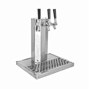 Glastender CT-3-SS-LD Column Draft Dispensing Tower