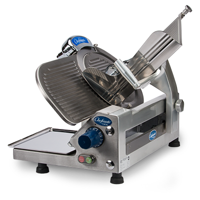 Globe GC512 Food Slicer, Electric, Countertop with Manual Feed - 115 Volts, 1/3 HP