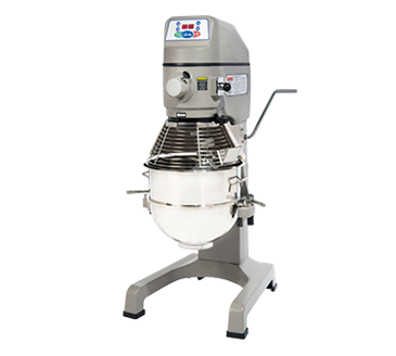 Globe SP30P 30 Quart Pizza Mixer with 1 HP, 115/60/1, 16 amps Custom Built Motor