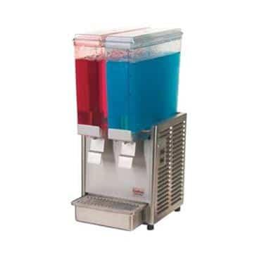 """Grindmaster-Cecilware E29-3 Crathco Classic Bubblers"""" Mini (2)"""" Premix Cold Beverage Dispenser"""