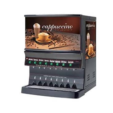 Grindmaster-Cecilware GB8MP-10-LD-U Panorama Cappuccino Dispenser