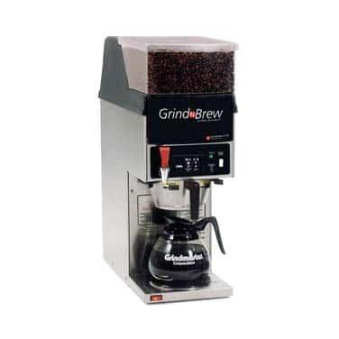 Grindmaster-Cecilware GNB-11H Grind'n Brew Coffee Brewer/Grinder for glass decanter