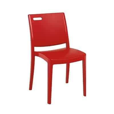 Grosfillex US356202 Metro Stacking Side Chair