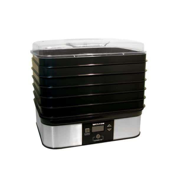 Hamilton Beach 75-0401-W Weston Digital Dehydrator
