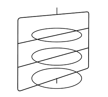 Hatco FSD3TCR (3) tier Circle Rack with pizza pan retainers