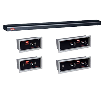 Hatco GRN4-54 Glo-Ray Narrow Halogen Foodwarmer