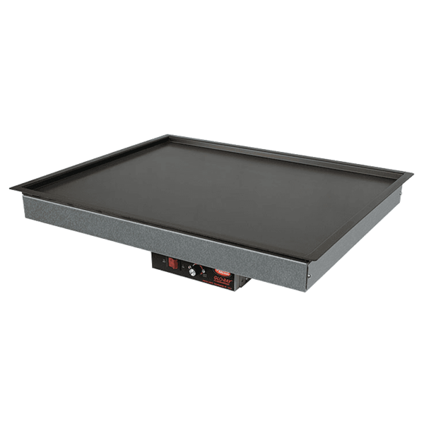 Hatco GRSB-42-O Glo-Ray Drop In Heated Shelf with Recessed Top